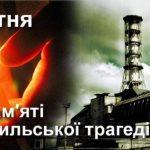 26 квітня – День Чорнобильської трагедії і Міжнародний день пам'яті жертв радіаційних аварій та катастроф.